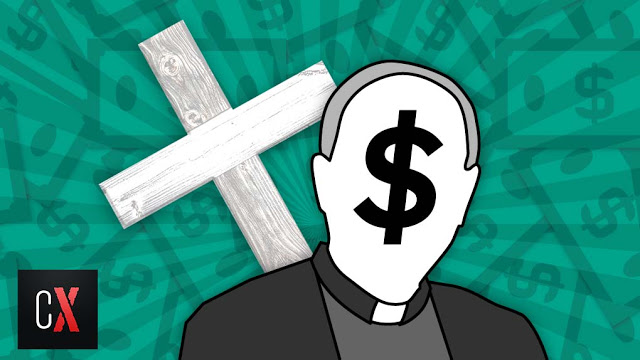 Mega-rich Catholic Church not for the Poor